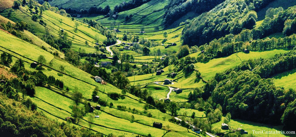 Los valles pasiegos turismo cantabria for Pisos en montornes del valles