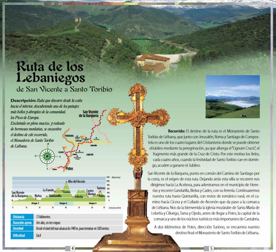 Ruta de los Lebaniegos