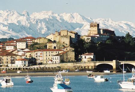 Castillo del Rey en San Vicente de la Barquera